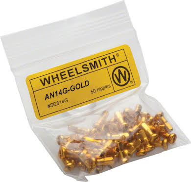 Wheelsmith 2.0 x 12mm Alloy Nipples, Bag of 50 alternate image 0