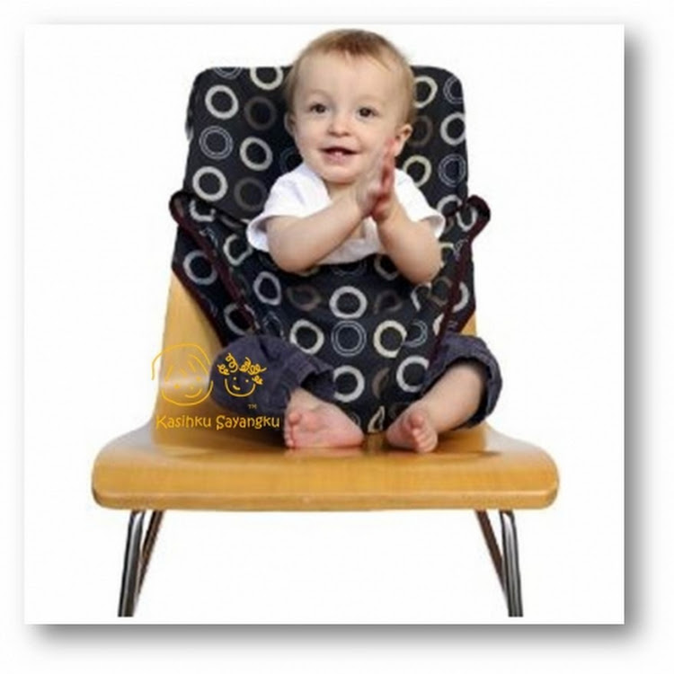 Totseat Coffee Bean Washable and Squashable Highchair by GREEN WHEEL INTERNATIONAL SDN BHD