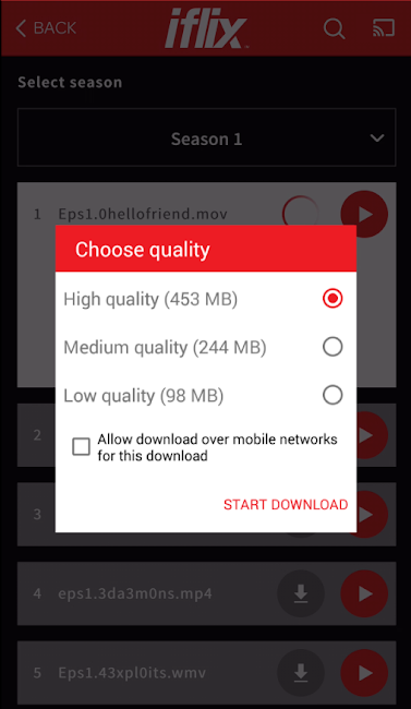 #5. iflix (Android)