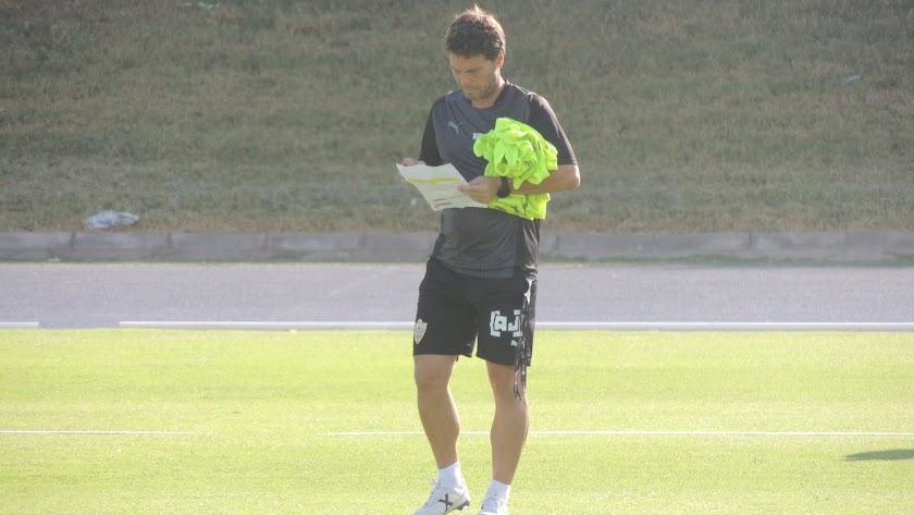 Rubi tiene las ideas claras para enfrentarse al CD Tenerife.