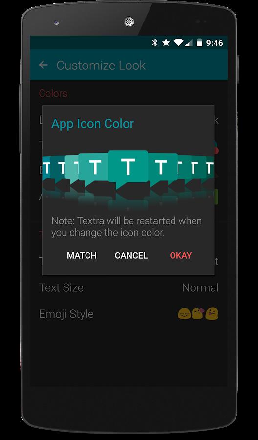 Textra SMS- screenshot