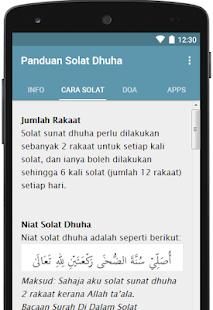 Panduan Solat Dhuha for PC-Windows 7,8,10 and Mac apk screenshot 2