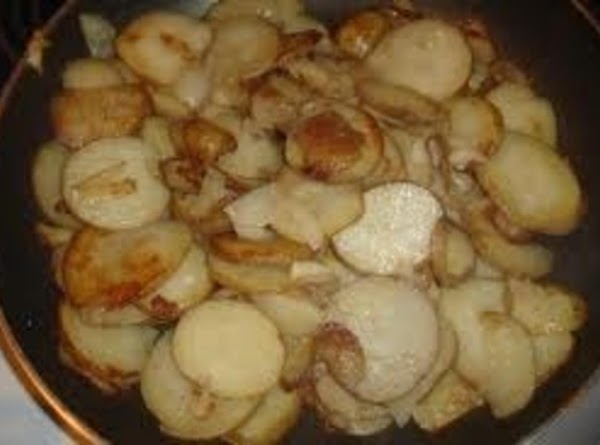 Cook, uncovered, for about 5 to 7 minutes, stirring occasionally, until potatoes begin to...
