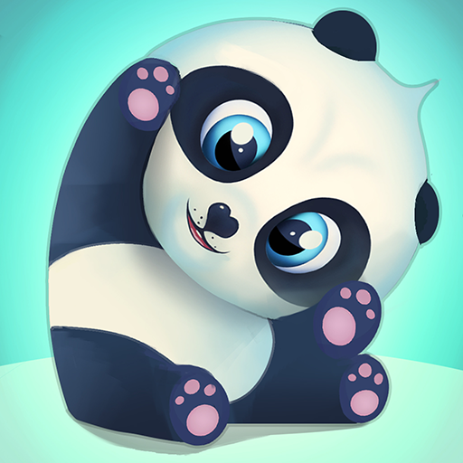 Pu - Cute giant panda bear, baby pet care game