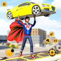 Super Speed Flying Hero Games : Rescue Survival icon
