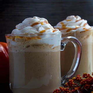 Caramel Pumpkin Spice Latte.