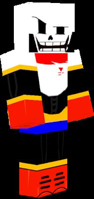undertale papyrus   Nova Skin