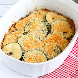 Healthy Zucchini, Tomato & Yellow Squash Gratin Recipe