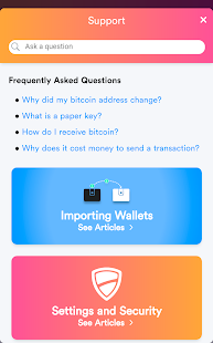 Bread - bitcoin wallet- screenshot thumbnail