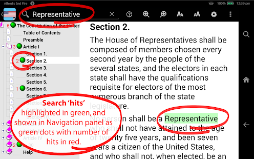 U.S. Constitution TurboSearch- screenshot thumbnail
