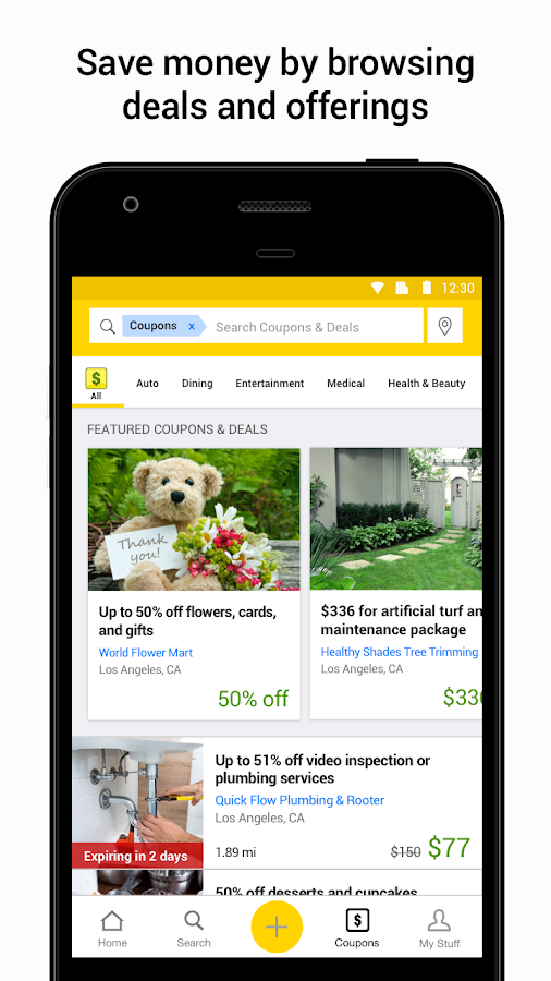 YP - The Real Yellow Pages- screenshot