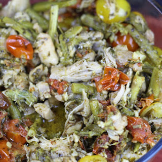 Instant Pot Chicken Basil Pesto and Veggies