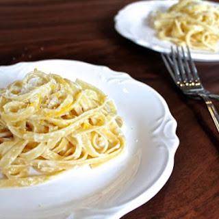 Lemon Parmesan Fettuccine