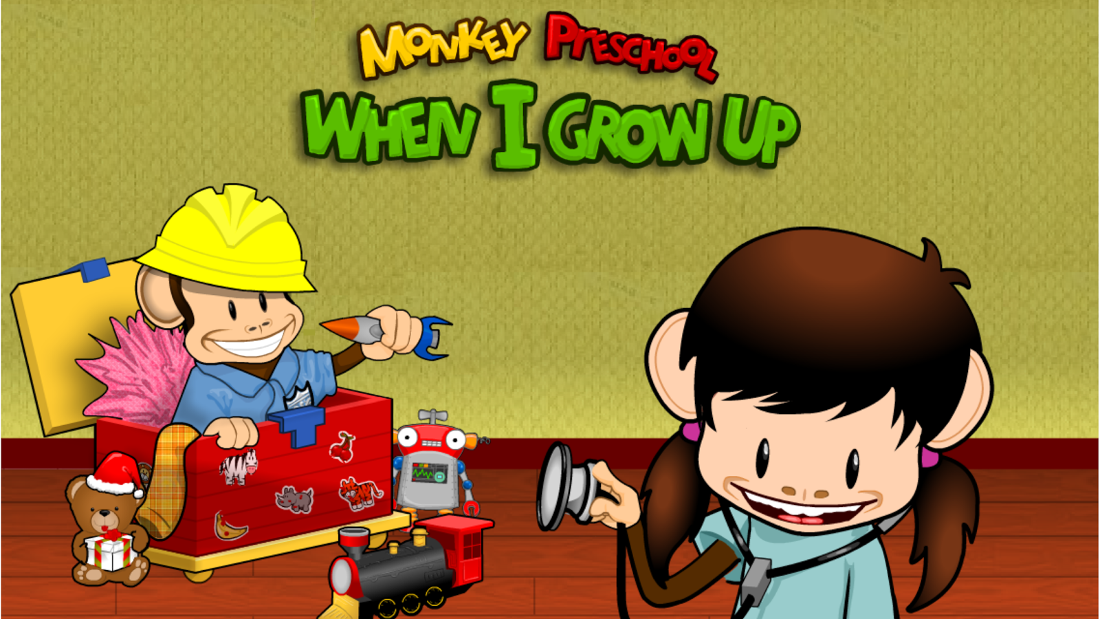 Monkey Preschool:When I GrowUp- screenshot