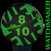 WATCH FACE CASUAL BIG GREEN