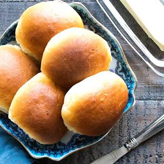 Amish Potato Rolls (Bread Machine).