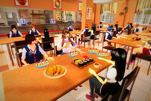 Virtual High School Girl Simulator Real Family apkmr screenshots 9