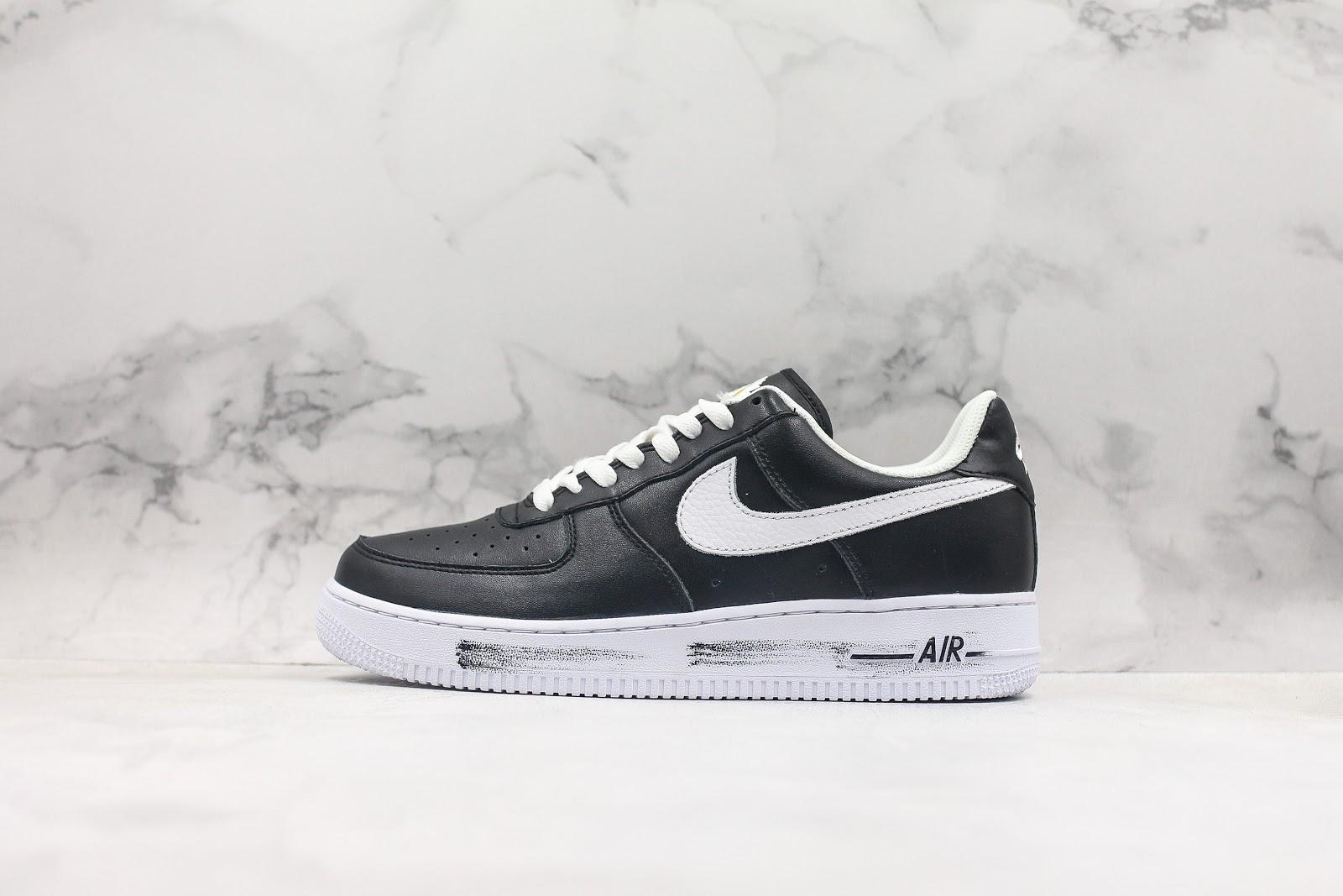 PEACEMINUSONE-x-Nike-Air-Force-1-Black-White-For-Sale