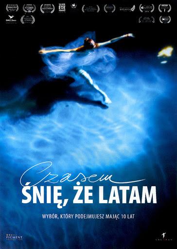 Przód ulotki filmu 'Czasem Śnię, Że Latam'