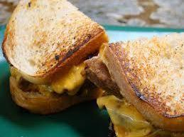 Grilled Meatloaf And Cheddar Sandwich Recipe