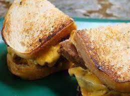 Grilled Meatloaf And Cheddar Sandwich