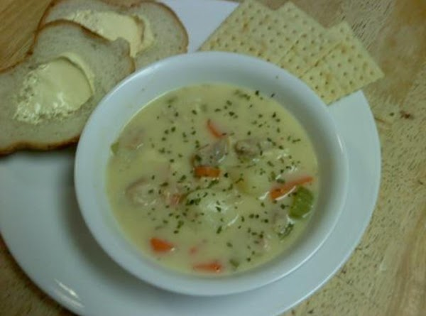 Cheesy Chicken Chowder Recipe