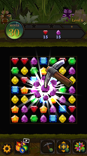 Secret Jungle Pop : Match 3 Jewels Puzzle 1.2.5 screenshots 4