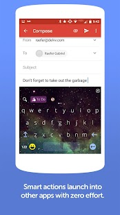Chatty GIF+Emoji Keyboard- screenshot thumbnail