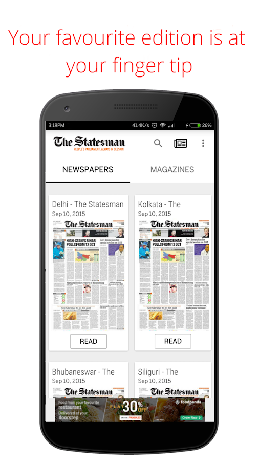The Statesman Newspaper- screenshot