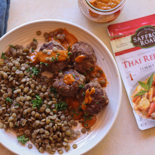 Red Curry Meatballs