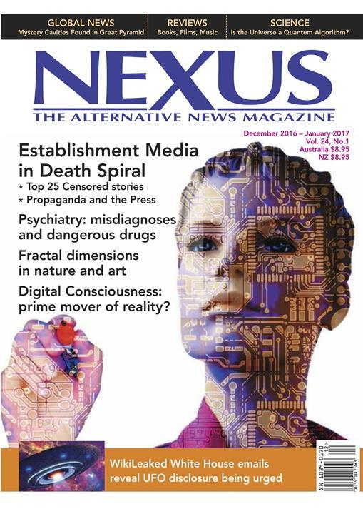 Nexus Magazine- screenshot