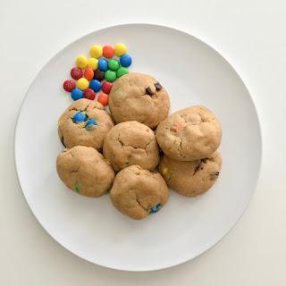 Dairy-Free & Egg-Free Monster Cookies.
