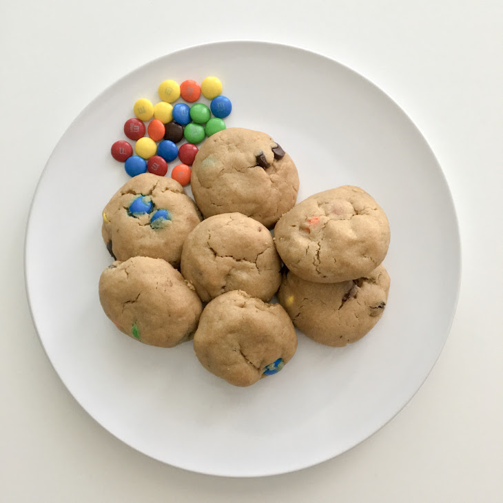 Dairy-Free & Egg-Free Monster Cookies Recipe