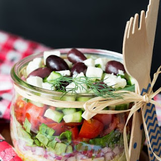 Greek Orzo Summer Salad.