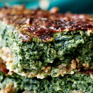 Sausage and Spinach Pie.