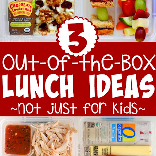 Three Out of the Box Lunch Ideas - Not Just for Kids!
