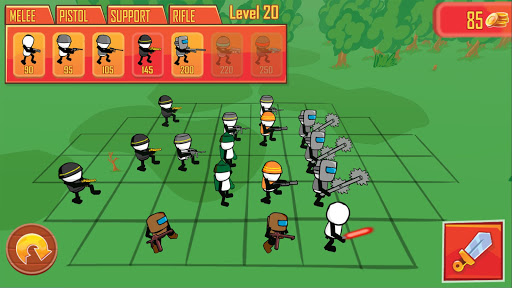 Stickman gun battle simulateur  captures d'écran 2