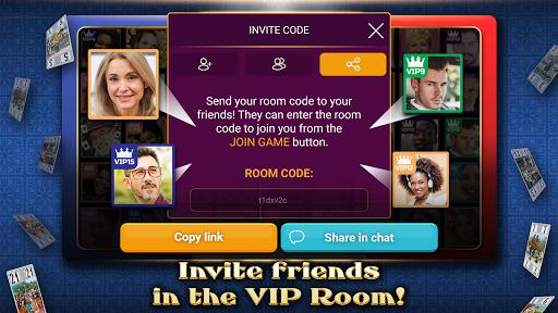 VIP Tarot - Free French Tarot Online Card Game 3.6.17 screenshots 3