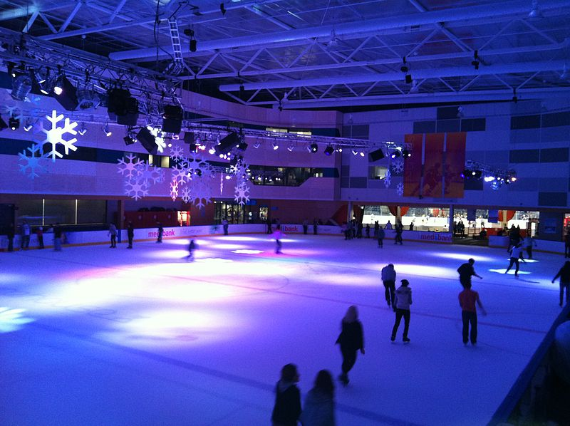 100 things to do in melbourne with kids ice skating docklands