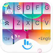 Colorful Rainbow Jelly Keyboard Theme