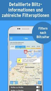Kachelmann Radar and Blitz HD