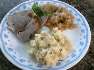 Working Girls Bavarian Pork Roast Recipe