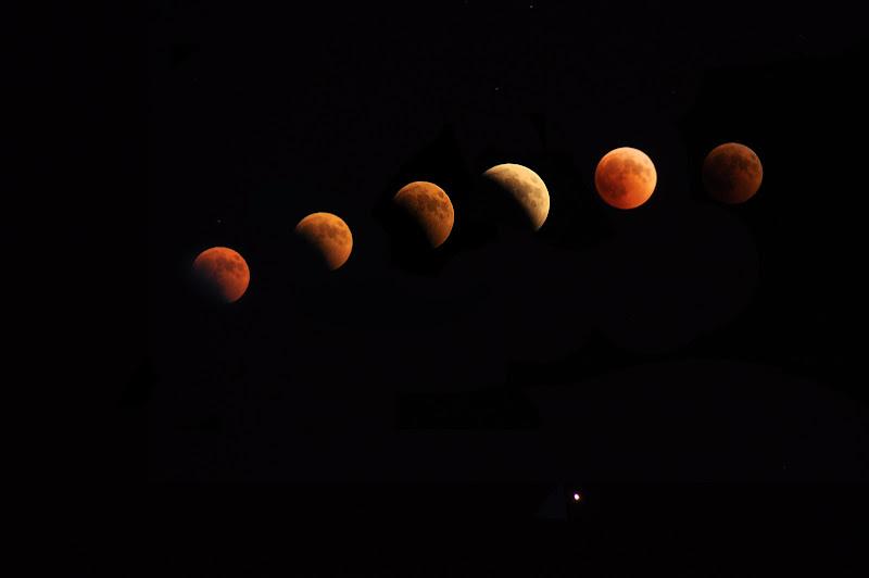 Luna di sangue di liigeia