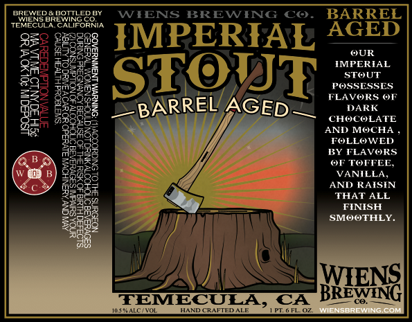 Logo of Wiens Barrel Aged Imperial Stout