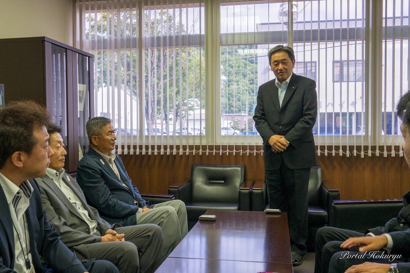 JAサロマ・橋本弘幸 代表理事組合長