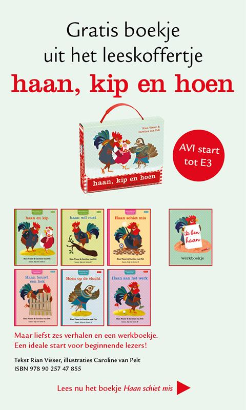 haan kip en hoen, prentenboek - screenshot