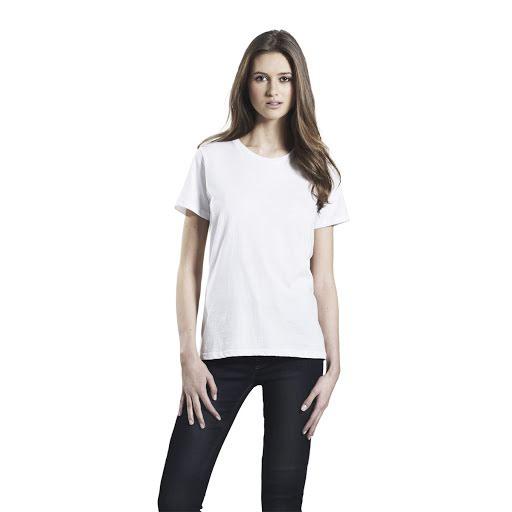 Organic Earth Positive Ladies T-Shirts White