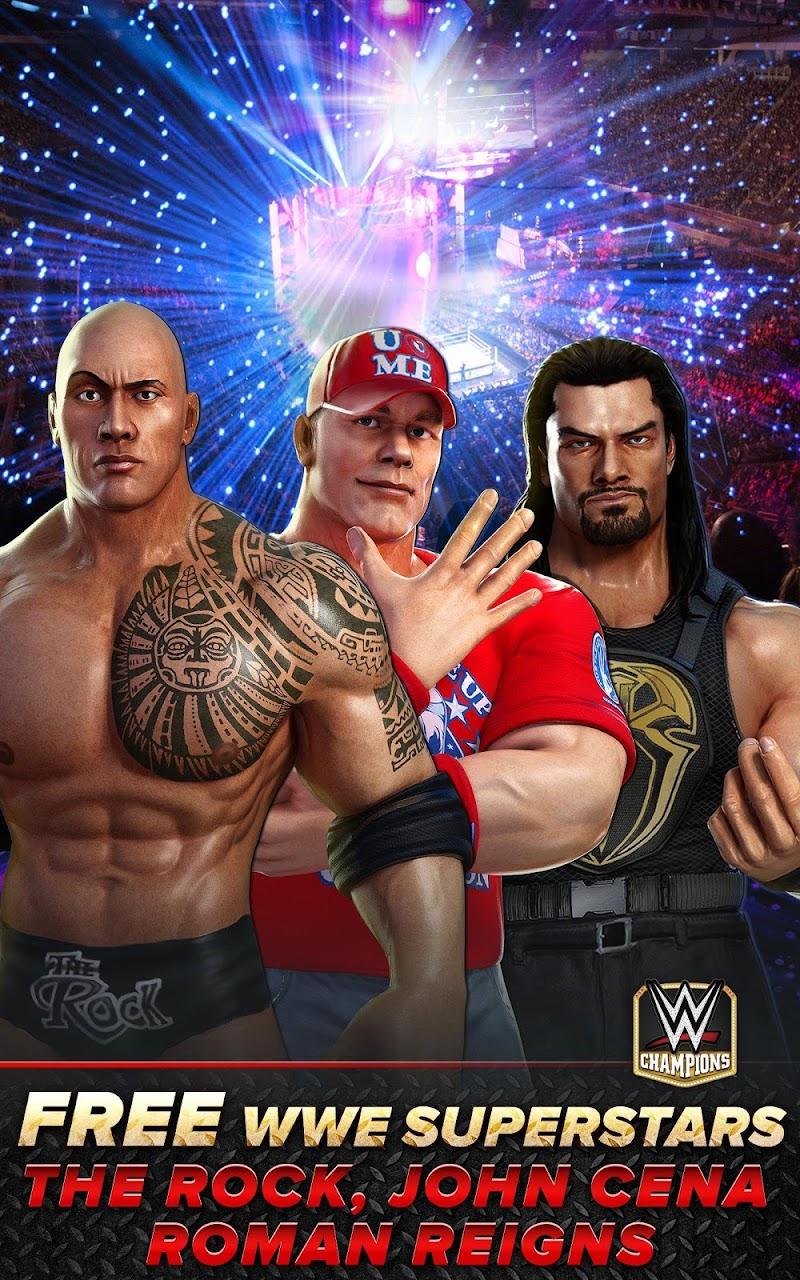 WWE Champions - Free Puzzle RPG Game Screenshot 13