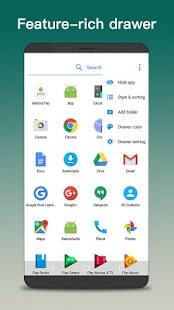 NN Launcher -Nice Nougat Launcher 2017, 7.0 Screenshot