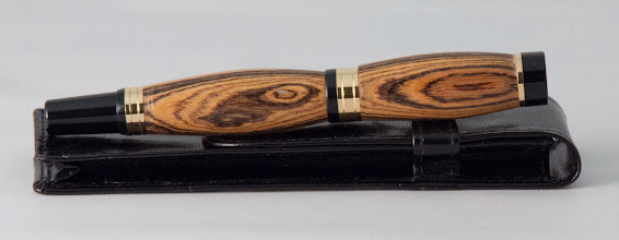 "Photo: Rebecca Meyerson 4""  fountain pen [bocote]"